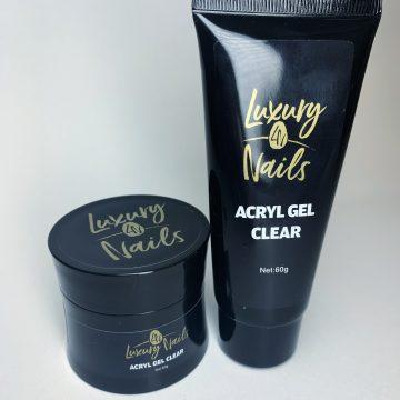Luxury Nails – Acryl gel – Clear