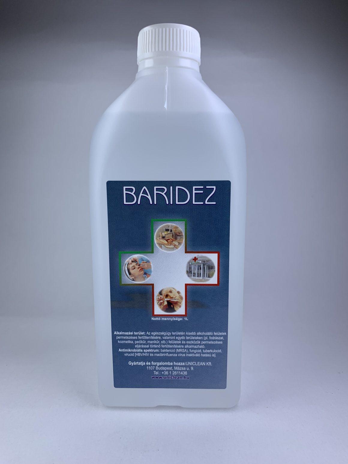 Baridez eszköz fertőtlenítő 1L